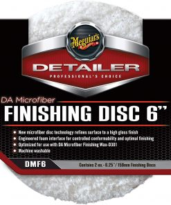 Meguiars FINISHING disc 6 polierpad Fahrzeugshine