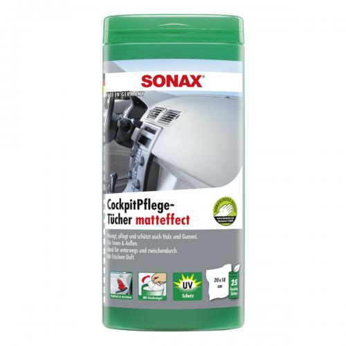 Sonax Cockpitpflegetuecher Matteffect Box Cockpitreiniger Fahrzeugshine
