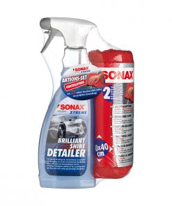 Sonax Xtreme BrilliantShine Detailer MicrofaserTuch Fahrzeugshine