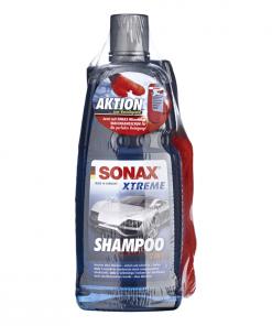 Sonax Xtreme Shampoo 2in1 Microfaser Waschhandschuh Autoshampoo Set Fahrzeugshine