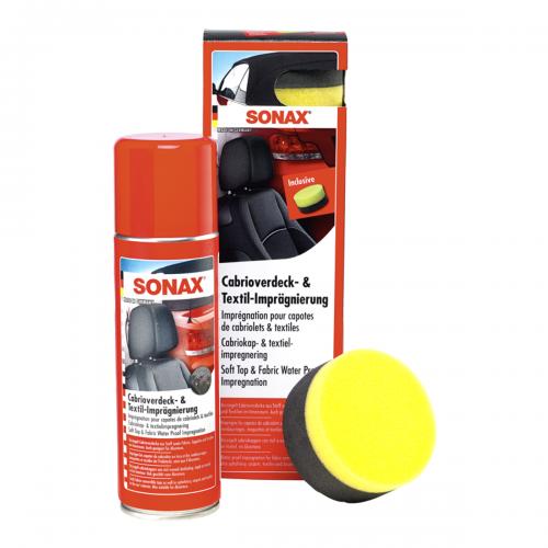 Sonax Cabrioverdeck Textilimpraegnierung Cabrio Fahrzeugshine