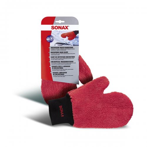 Sonax Microfaser Waschhandschuh Fahrzeugshine Waschhandschuh