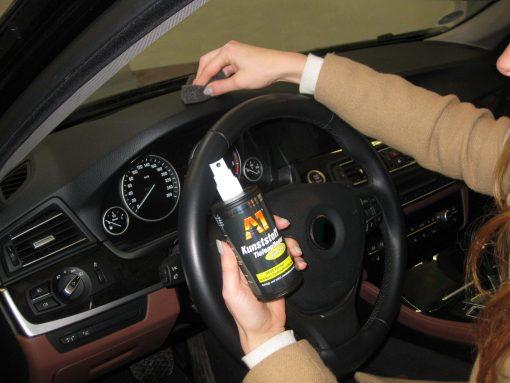 Dr. Wack Chemie A1 Kunststofftiefenpflege Glänzend Kunststoffpflege Fahrzeugshine