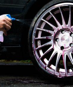 AutoGlanz Blood Tonic Felgenreiniger Fahrzeugshine Anwendung