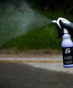 AutoGlanz Smooth Velvet Sprühwachs Fahrzeugshine Anwendung