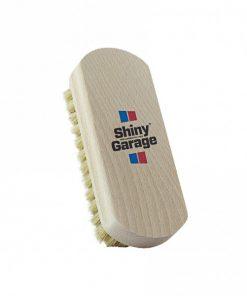 Shiny Garage Leather Brush Lederbürste Lederpflege Fahrzeugshine
