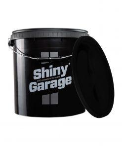Shiny garage Wascheimer Schwarz 20L Eimer Fahrzeugshine