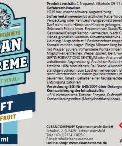 Cleanextreme Duft Grapefruit Autoduft Fahrzeugshine