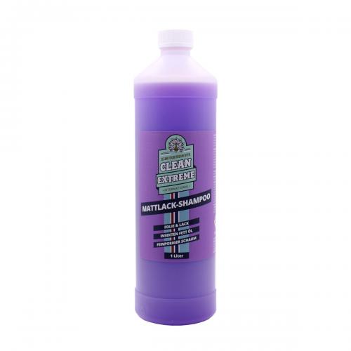 Cleanextreme Mattlack Autoshampoo Folie Lack Konzentrat Autoshampoo Fahrzeugshine