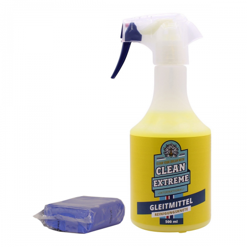 Cleanextreme Reinigungsknete Gleitmittel Set Knete Fahrzeugshine