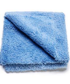 Cleanextreme Micro Poliertuch Blau fluffy Poliertuch Fahrzeugshine