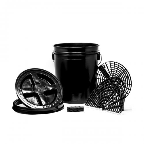 Grit Guard Wascheimer Set Ultimate schwarz 5gal Wascheimer Fahrzeugshine