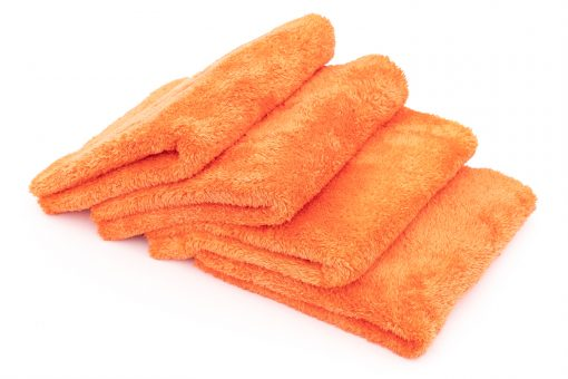 The Rag Company Eagle Edgeless 500 Orange Mikrofasertuch randlos
