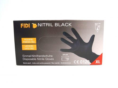 FIDI NItril Black Einmalhandschuhe Gr. XL Einmalhandschuhe Fahrzeugshine