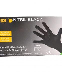 FIDI NItril Black Einmalhandschuhe Gr. M Einmalhandschuhe Fahrzeugshine