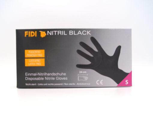 FIDI NItril Black Einmalhandschuhe Gr. S Einmalhandschuhe Fahrzeugshine
